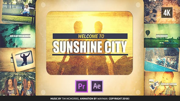 Thumbnail for Vintage Diashow | Sunshine City