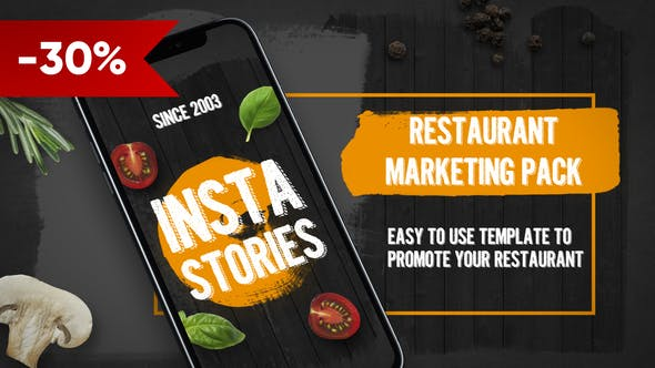 Cover Image for Restaurant Promo Pack