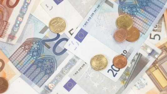 Thumbnail for Euro Coins Falling