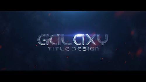 Galaxy Title Design