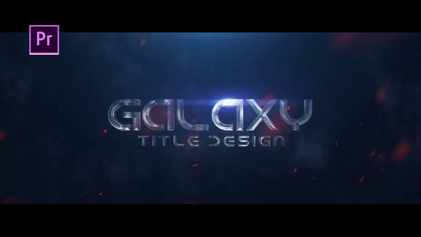 Galaxy Title Design