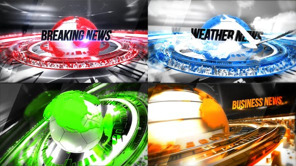 Thumbnail for 24 Broadcast News - Complete Package