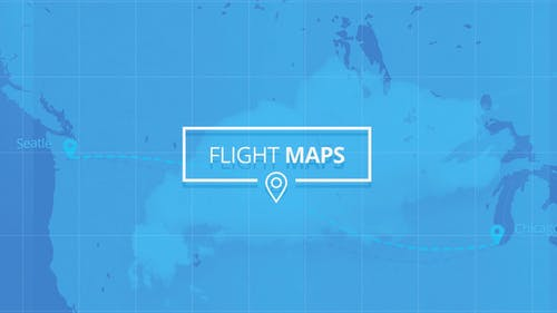 Flight Maps - Visualize Where You're Travelling