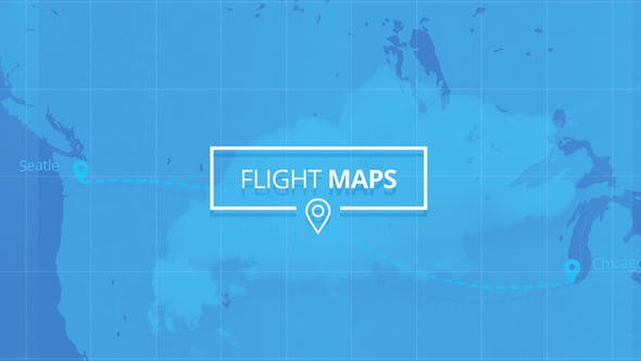 Thumbnail for Flight Maps - Visualize Where You're Travelling