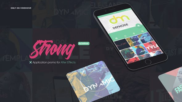 Strong Application Promo