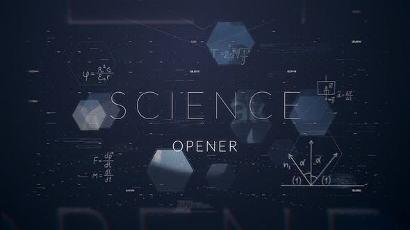 Thumbnail for Science Opener    After Effects Template