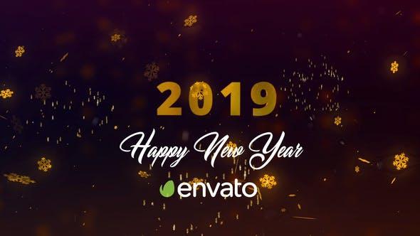 New Year 2019 Countdown