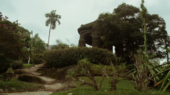 Thumbnail for Steps leading up hill in Jardim Botanicos, Rio