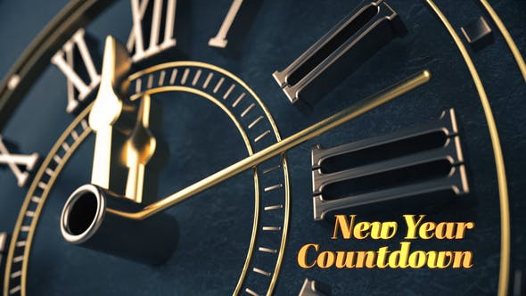 Thumbnail for Elegant New Year Countdown
