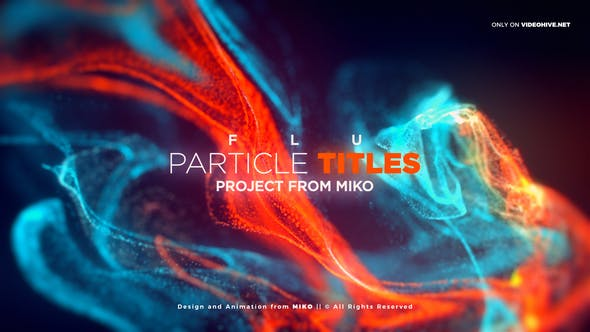 Thumbnail for FLU - Particles Titles
