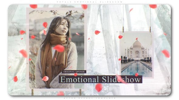 Thumbnail for Petals Emotional Slideshow