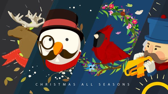 Thumbnail for Christmas All Seasons Video Greeting
