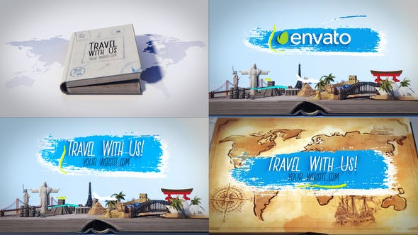 Thumbnail for Travel Book Logo Reveals