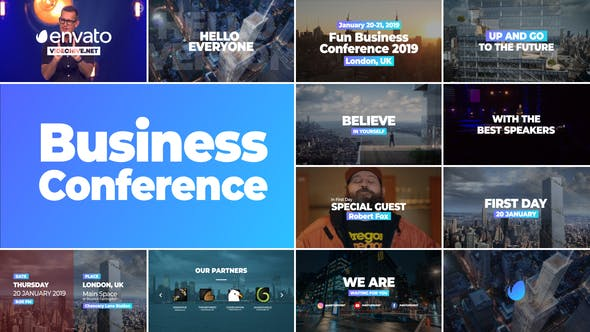 Thumbnail for Business Conference Promo