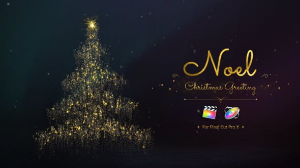 Thumbnail for Noel - Christmas Greetings for Final Cut Pro