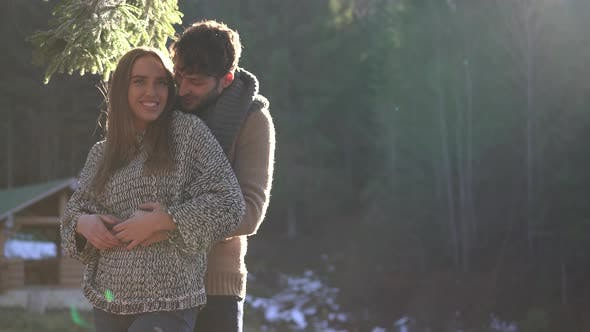 Thumbnail for Young couple enjoying the sunny weather
