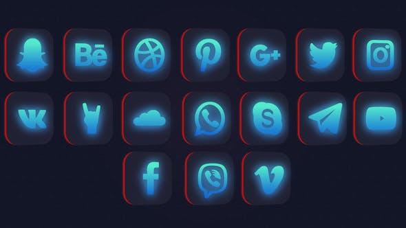 Thumbnail for Social Media Logo Pack