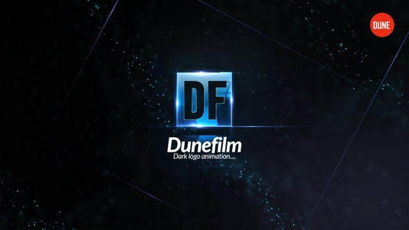 Dunkles Logo Animation