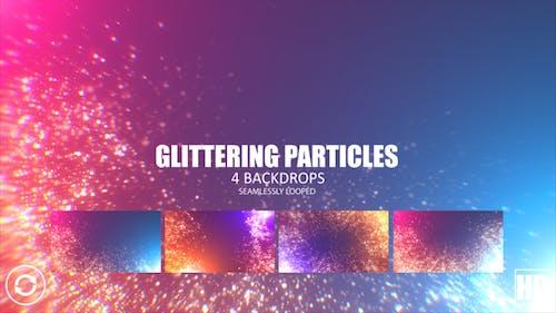 Glitzernde Partikel HD