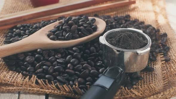 Thumbnail for Coffee Bean On Sackcloth