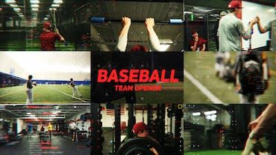 Baseball Team Opener