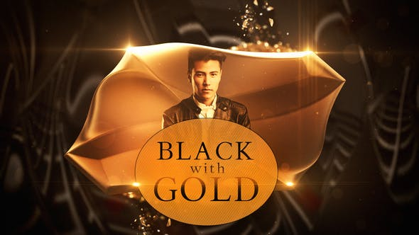 Cover Image for Black with Gold