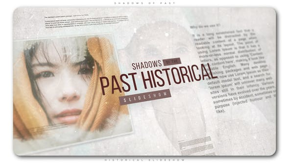 Thumbnail for Shadows of Past Historical Slideshow