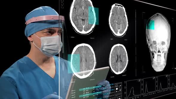 Mri Brain Data Monitor 2