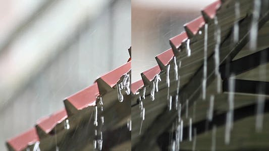 Thumbnail for Heavy Rain On The Roof (Pack Of 2)