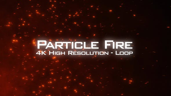Thumbnail for Fire Particles 4K Overlay