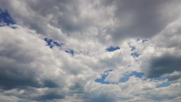 Thumbnail for beautiful fluffy clouds