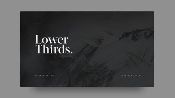 Lower Thirds
