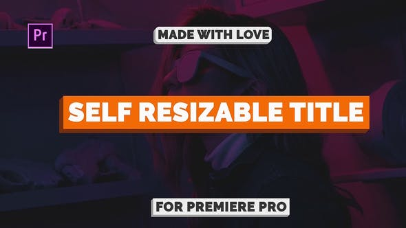 Cover Image for Self Resizable Title