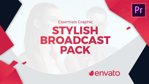 Thumbnail for Stylish Broadcast Pack | Essential Graphics | Mogrt