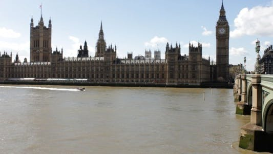Thumbnail for House Of Parliament Daytime Time Lapse In London