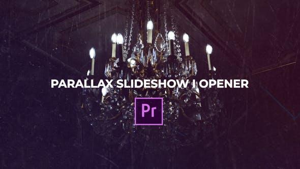 Thumbnail for Parallax Diaporama I Opener Premiere Pro