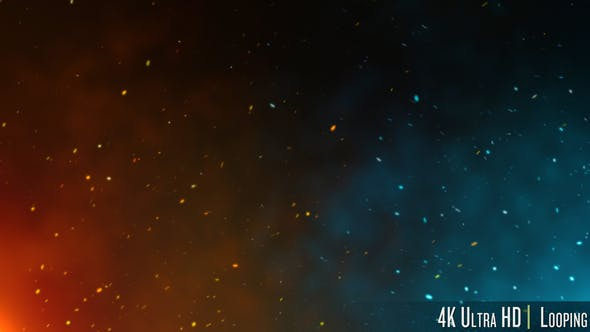 Thumbnail for 4K Fire and Ice Particles