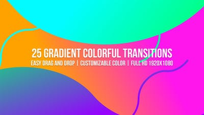 Gradient Colorful Transitions