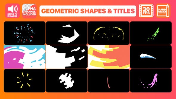 Thumbnail for Geometric Shapes And Titles