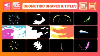Geometric Shapes And Titles