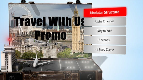 Thumbnail for Travel With Us - Promo