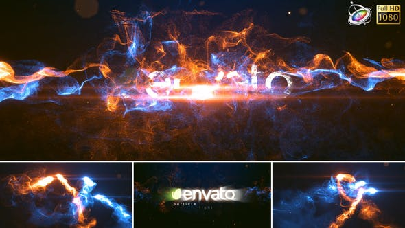 Thumbnail for Particle Light – Apple Motion