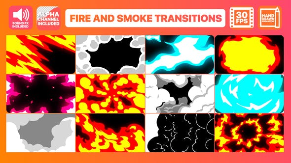 Thumbnail for Fire And Smoke Transitions