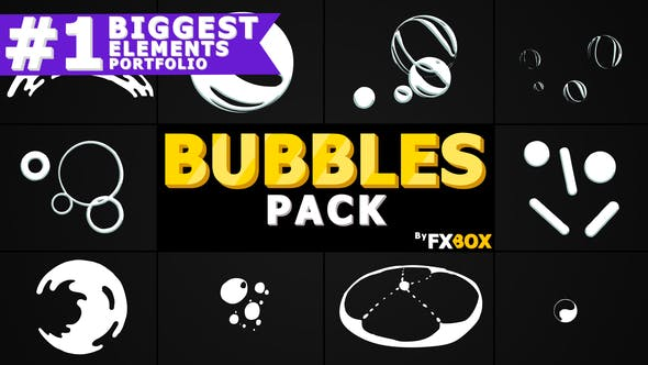 Thumbnail for Bubble Elements | After Effects