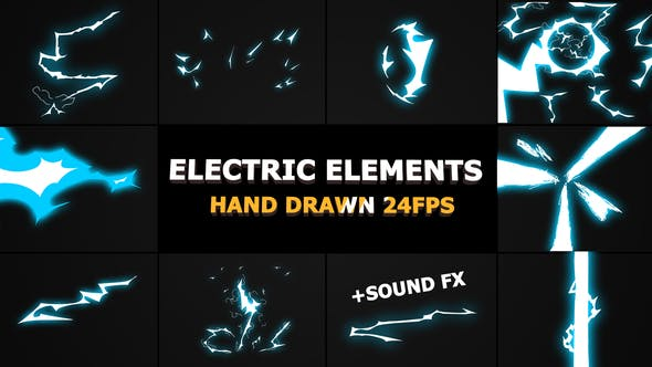 Thumbnail for Dynamic ELECTRIC Elements | FCPX