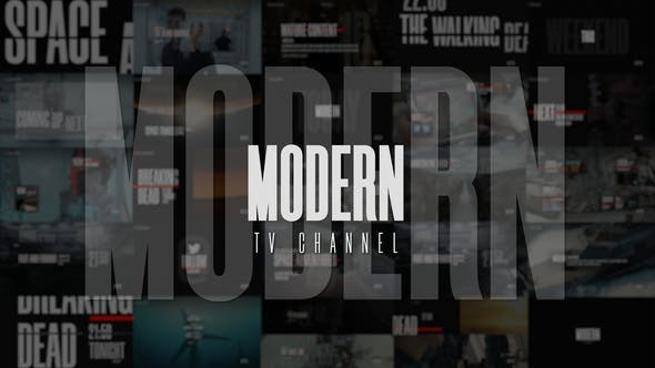 Contemporary TV Broadcast Graphics Package