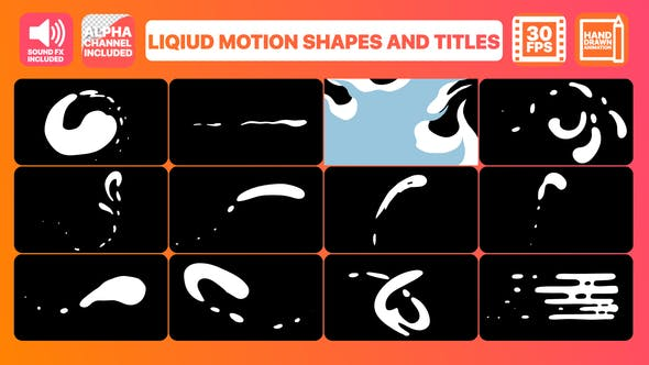 Liquid Motion Shapes And Titles