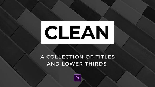 Thumbnail for Clean Titles and Lower Thirds - For Premiere Pro