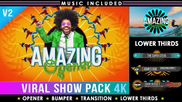 Colorful Summer Intro Show Pack