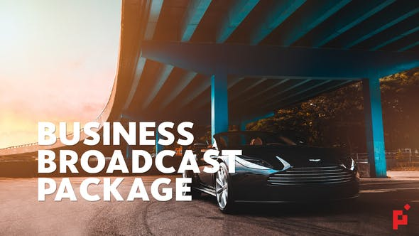 Thumbnail for Business Broadcast Pack | Essential Graphics | Mogrt